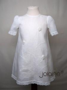 Linine kriksto suknele